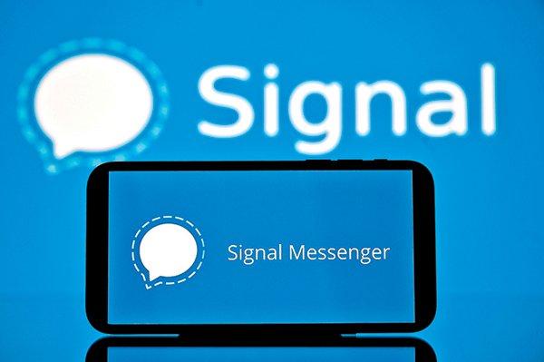 數據公司Sensor Tower統計今年1到4月數據,Signal全球下載安裝次數為6,460萬次,較去年同期增加近1200%。(Getty Images)