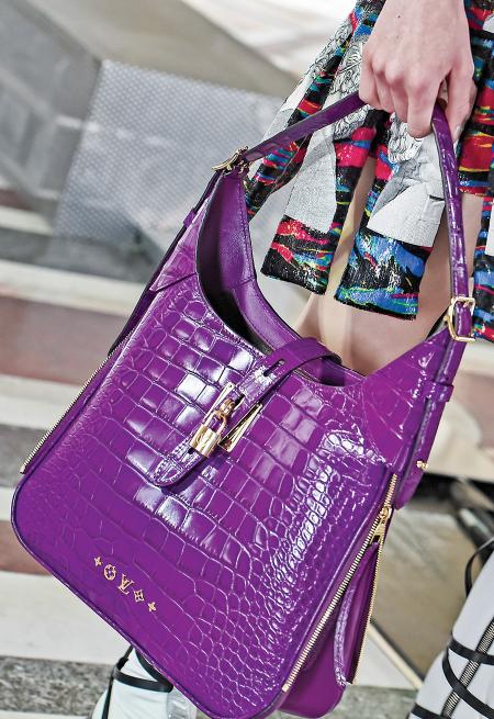 LV路易威登手提包。(Getty Images)