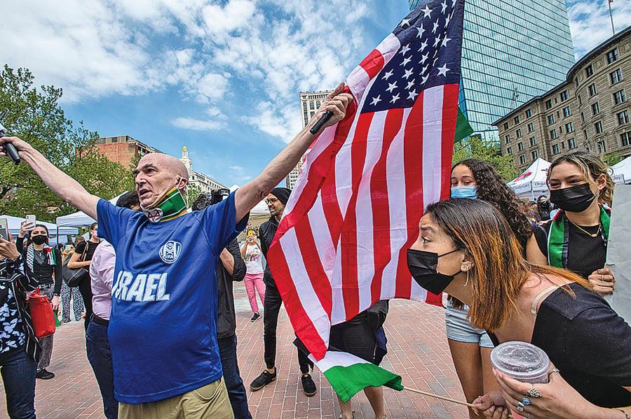 拜登支持以色列自衛權