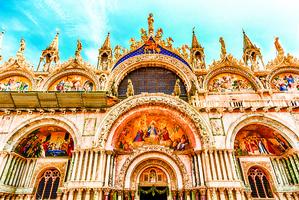 威尼斯「金色聖堂」 聖馬可大教堂