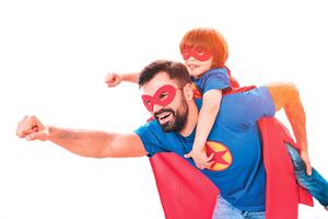 有男子氣概的父親   對孩子成長有利