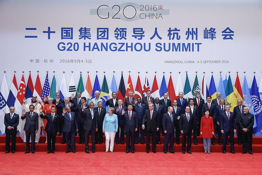 9月5日,G20會議在杭州閉幕。(Lintao Zhang/Getty Images)