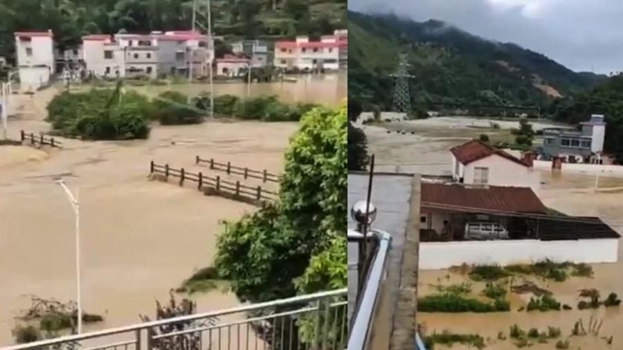 「50年一遇大洪水」 廣東多個城鎮被淹【影片】