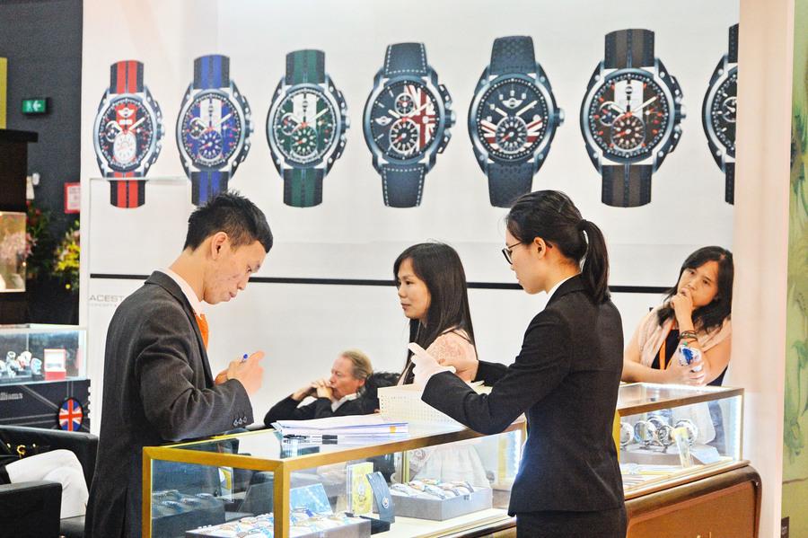 鐘錶展商家料銷情減四成