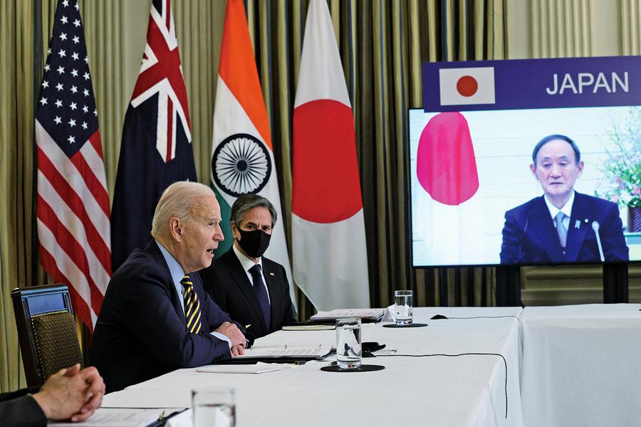 美日澳印四方合作升溫 中共駐日大使多方阻止