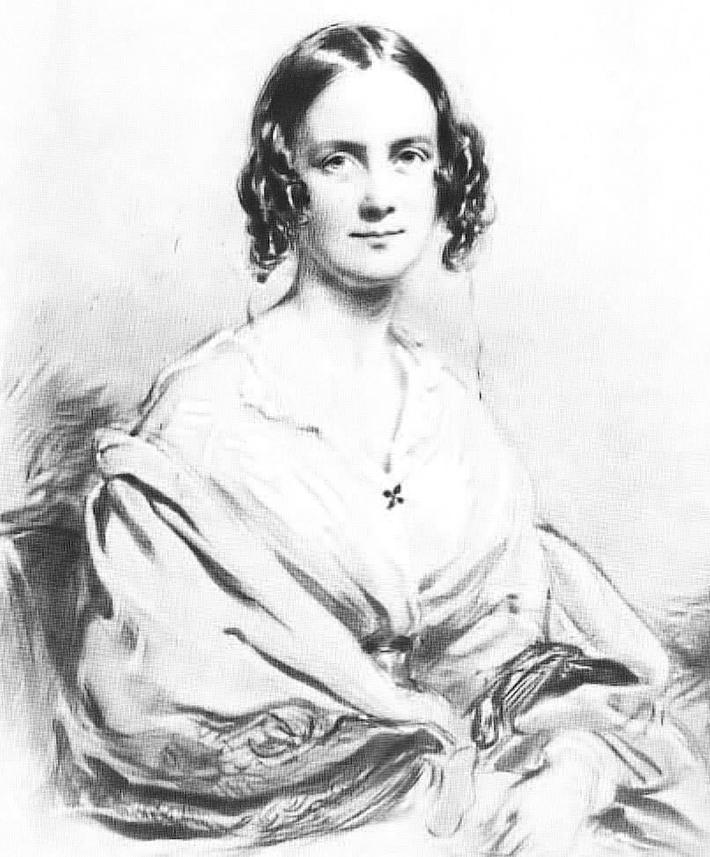 達爾文的妻子埃瑪(公有領域)