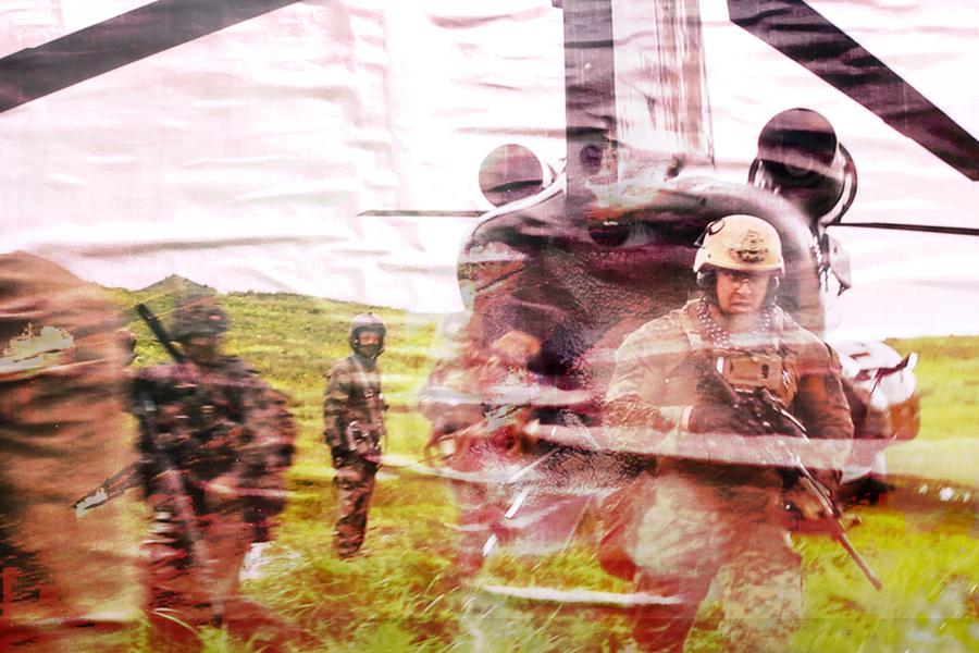 美日法澳聯合軍演 圍堵中共