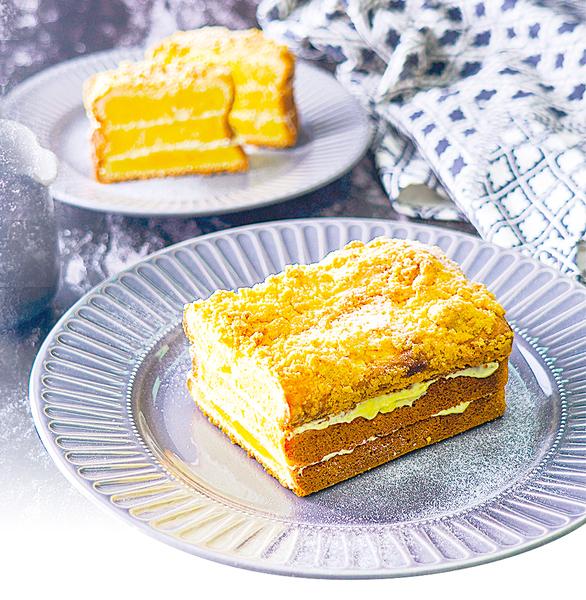 當磅蛋糕遇上酥菠蘿 口感更上一層