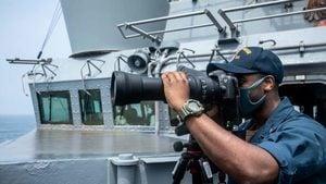 美軍艦穿台海闖西沙 第七艦隊駁斥共軍「驅逐論」