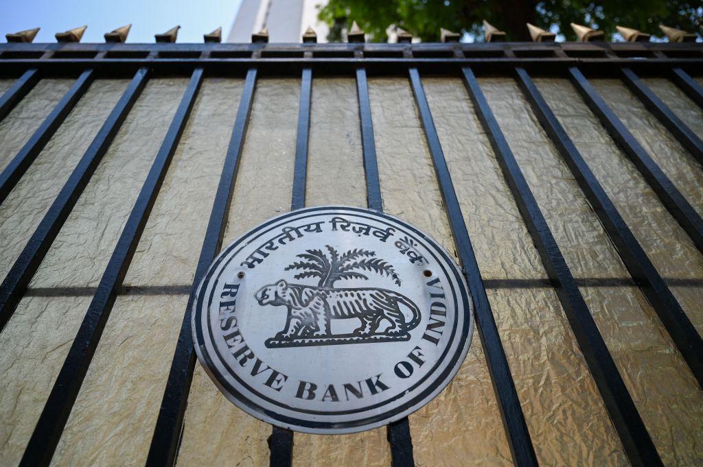 印度今(5月21日)公佈外匯儲備按周增加0.10%至5,900億美元。(PUNIT PARANJPE/AFP via Getty Images)