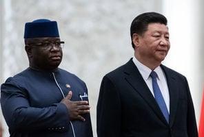 中共秘密給塞拉利昂5500萬美元 惹上麻煩