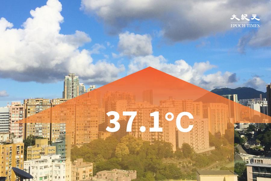 今午36度破歷來五月最熱紀錄 大美督錄37.1度高溫