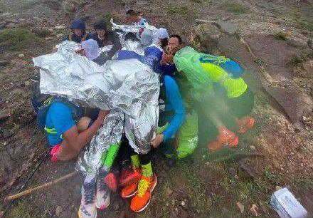 甘肅山地馬拉松已有21人遇難 現場照片曝光