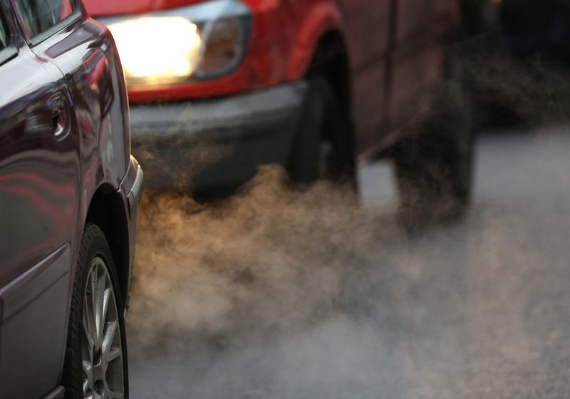 汽車尾氣是造成空氣污染的一個主要原因。(Getty Images)
