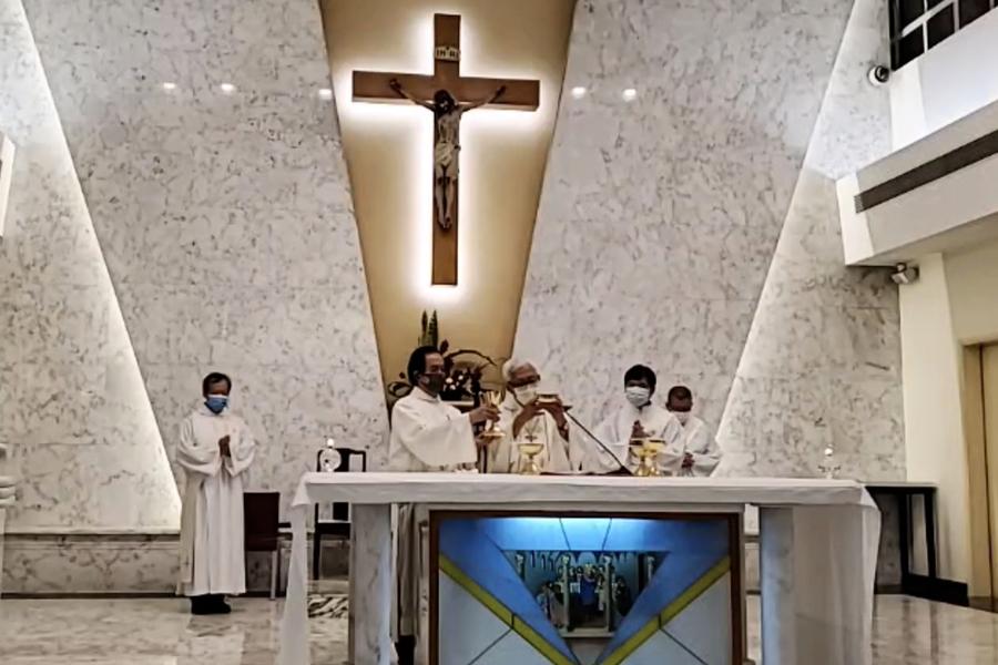 陳日君主禮「為中國教會祈禱」彌撒 指整個教會受到考驗