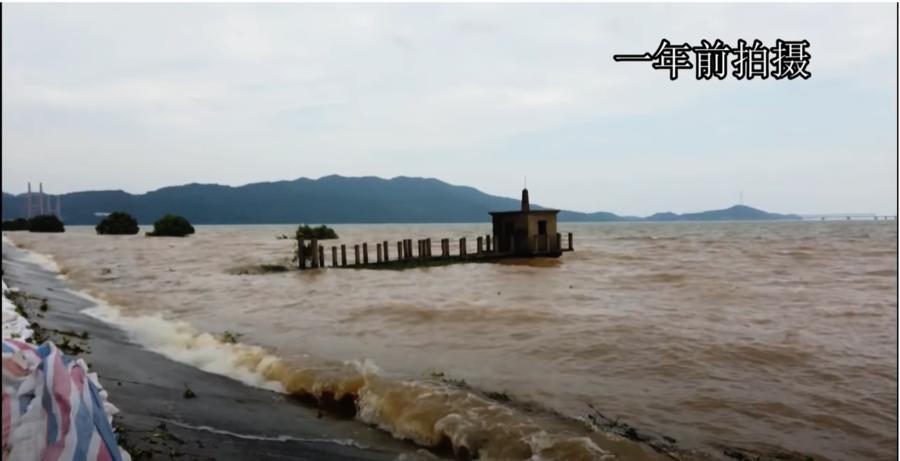 長江流域五個控制站水位超警戒線