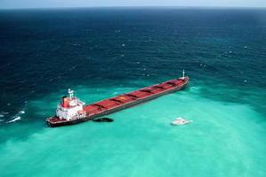 中國船外洩物污染大堡礁 澳求償九千萬美元