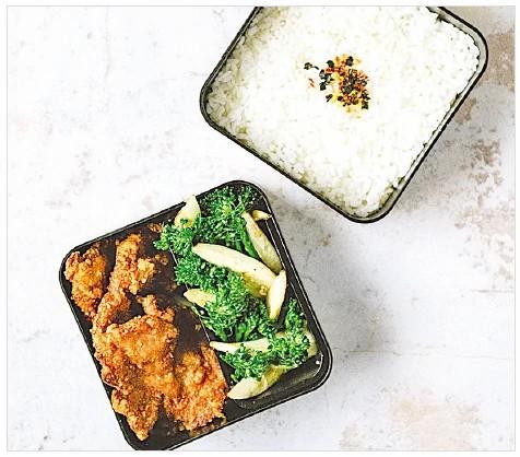 台式家常菜 酥炸酒釀排骨飯盒