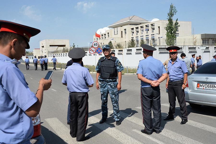 吉爾吉斯中使館被炸案 凶手身份確認