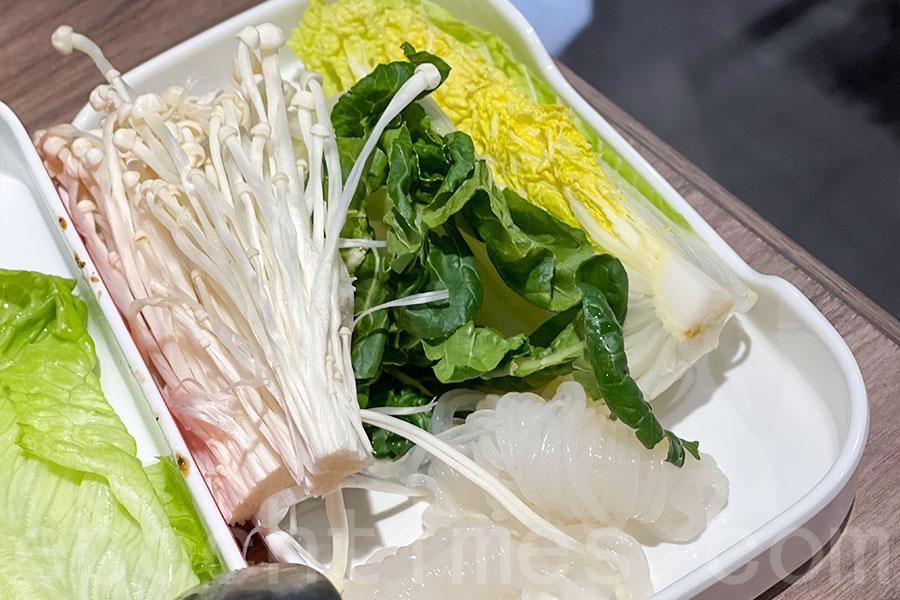 蔬菜種類繁多。(Siu Shan提供)