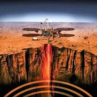 洞察號數據顯示 火星一年地震五百多次