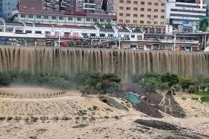 大陸79條河流發生超警洪水 再現擔憂