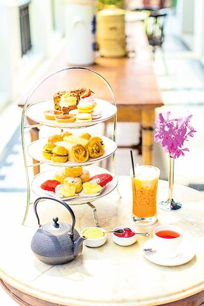中國富人風靡英國下午茶?