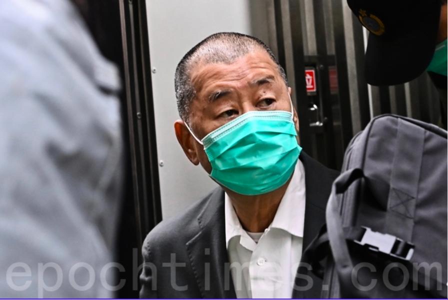 路透:李家超發信銀行 警告處理黎智英賬戶可囚七年