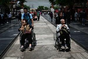 中國人口老齡化持續加劇 老人贍養問題壓力增大