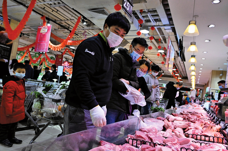 中國豬肉價格持續驟跌