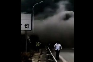 湖南益陽隧道發生重大事故 官媒噤聲