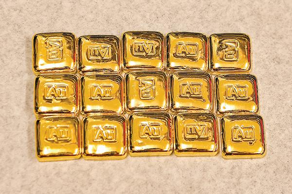 黃金五月大漲8% 跑贏多數金融商品