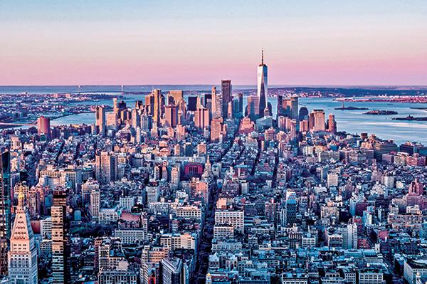美國經濟與金融之都紐約。(Getty Images)