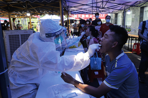 疫情續升溫 廣州封閉38個區域