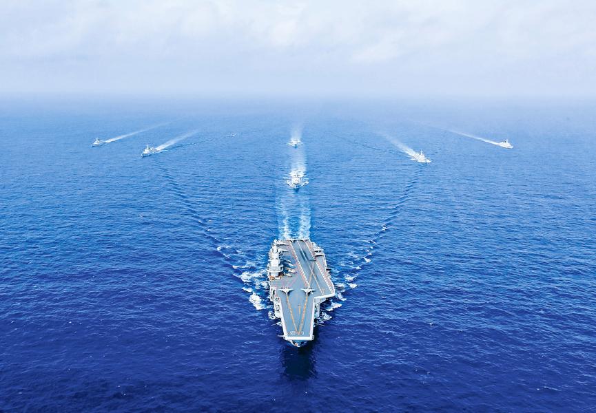 中共航母尚未構成大威脅