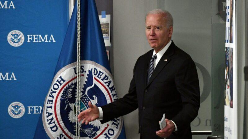 拜登要求美國情報界調查中共病毒的起源,並下令「擁有先進的超級電腦的17個國家實驗室協助徹查。( NICHOLAS KAMM/AFP via Getty Images)