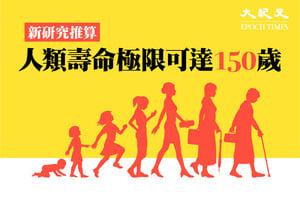 新研究推算人類壽命極限可達150歲