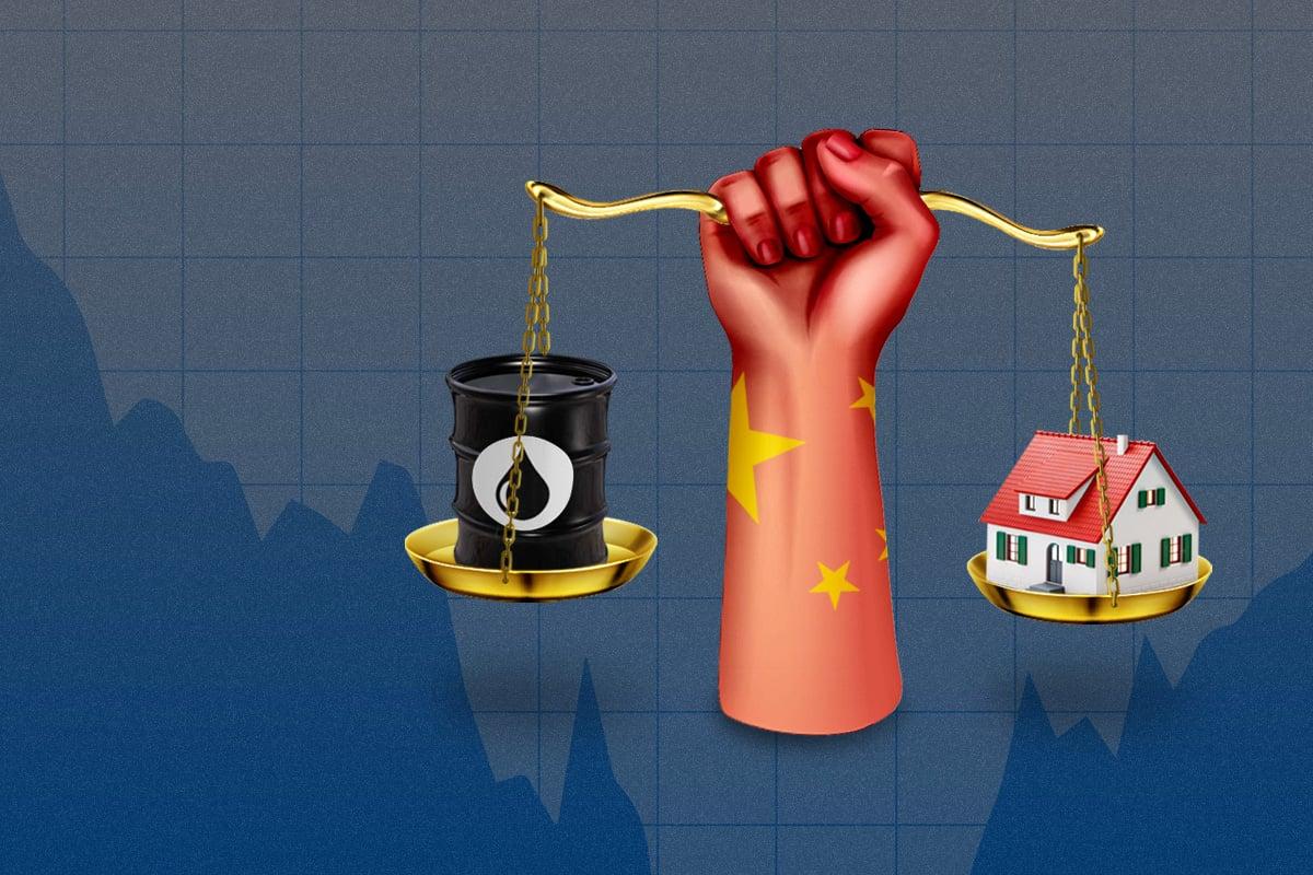 人民幣匯率升值,北京緊張甚麼?中共為何死守房地產、大宗商品兩大板塊?上調外匯存款準備金率2個百分點,中共央行要幹啥?(大紀元製圖)