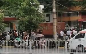 陝西小學生疑似食物中毒 午餐後46名學生送醫