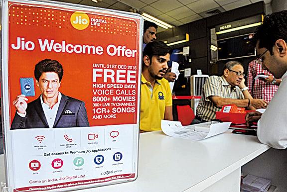 印度首富花2百億美元讓全國免費用4G網絡