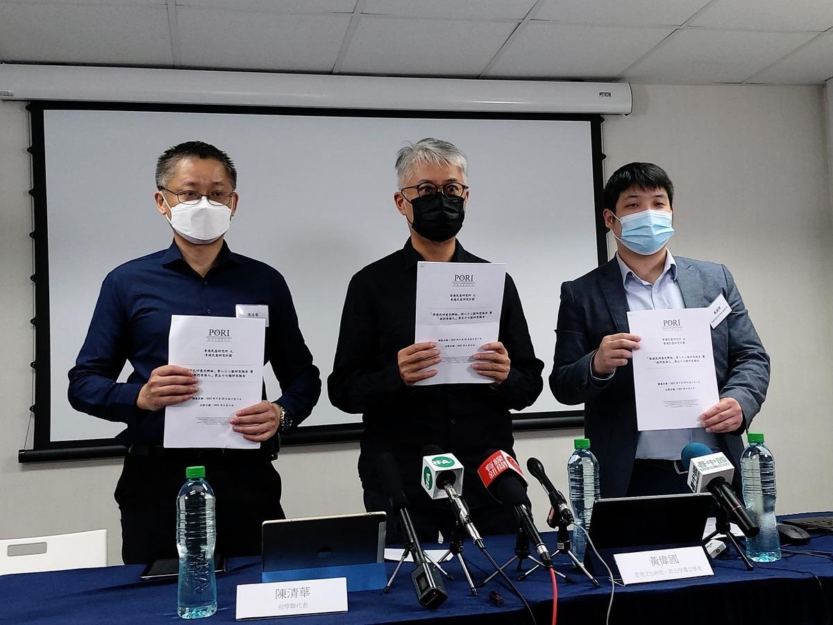 香港民研調查結果顯示,逾六成受訪者反對「舉辦六四悼念活動會危害國家安全」的說法。(唐碧琦/大紀元)