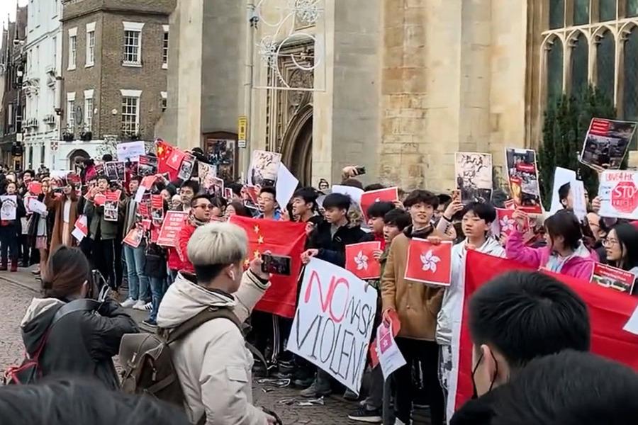 英媒:「學聯」威脅英國大學香港學生