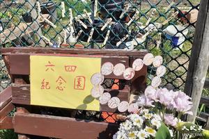 【8964】前香港駐北京六四記者 英國後花園建「六四紀念園」默哀悼亡靈【影片】
