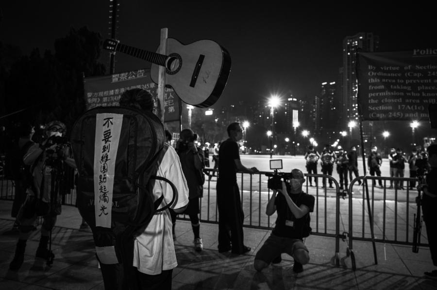 【悼念六四】58歲藝術家陳先生:如果驚就死啦!