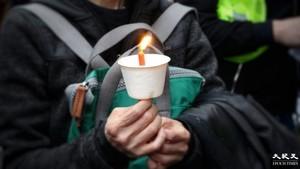 六四32|倫敦逾千人集會 紀念六四 為港人發聲