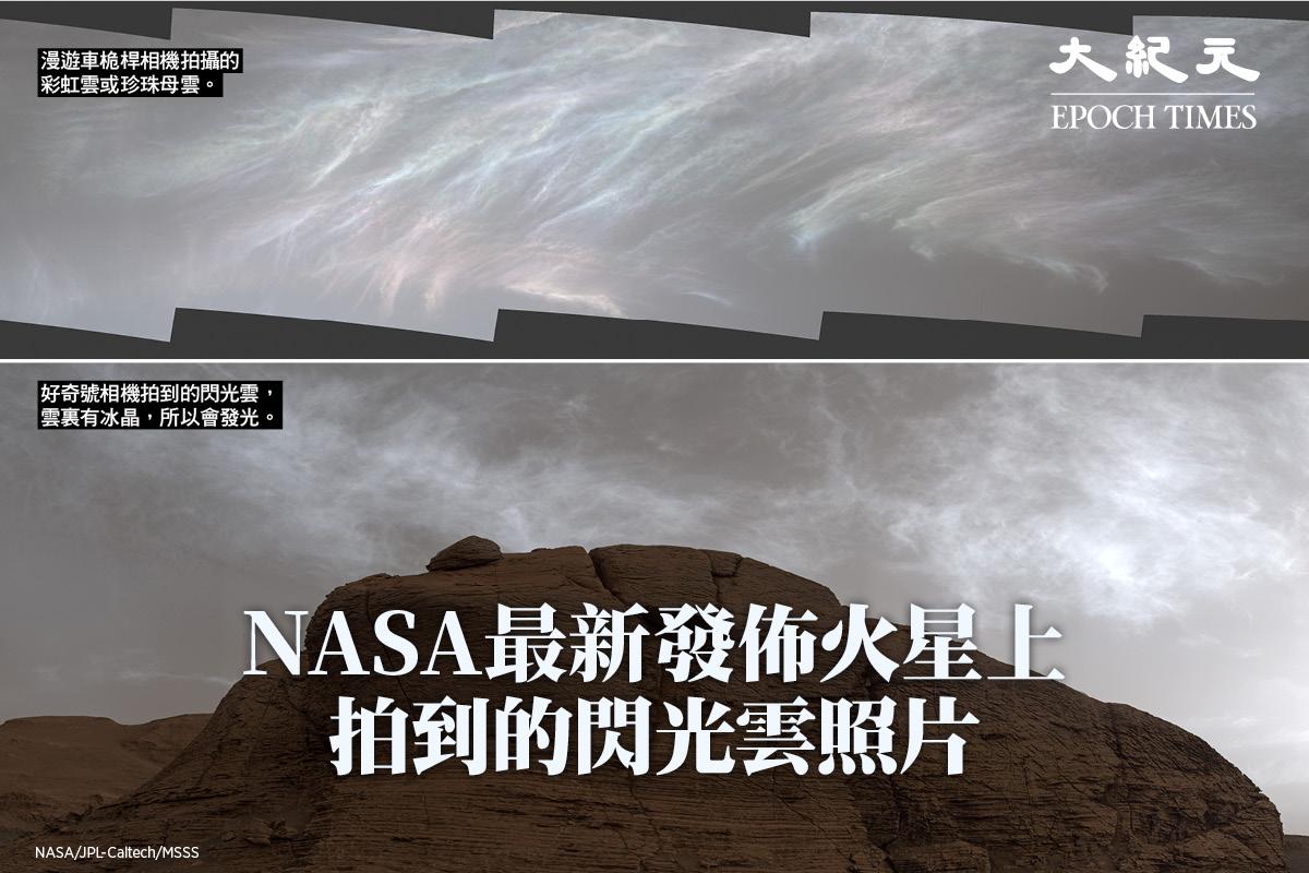 火星上的雲。(Credit:NASA/JPL-Caltech/MSSS)