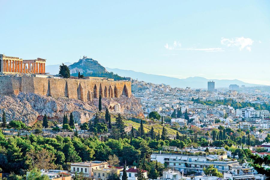 千餘年前雅典城裏一個黃昏(上)