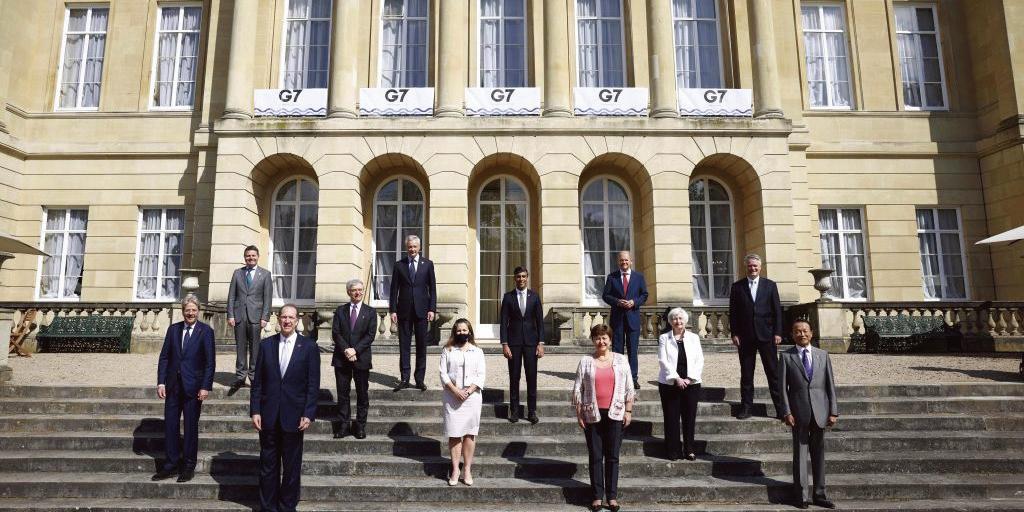 G7峰會訂全球最低稅率為15%