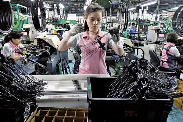 台灣製造業需求強勁 估今年產值5.8萬億創新高