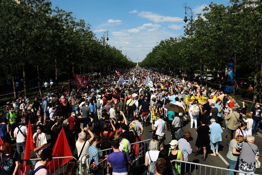千人抗議建復旦分校 匈牙利反共浪潮持續